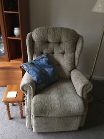 2 Rise and Recline Electric chairs