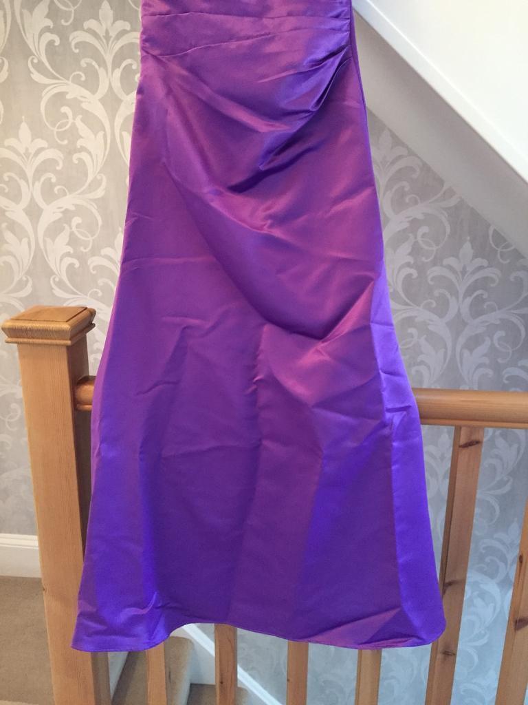 Purple Bridesmaids dresses size 8 | in Newport | Gumtree