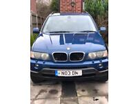 BMW X5 2003 low mileage
