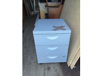 Metal filing cabinet , storage , chest , under desk cabinet can delivery for free