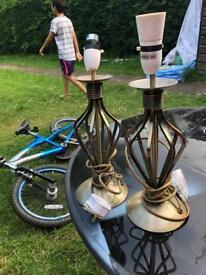Lamp table base