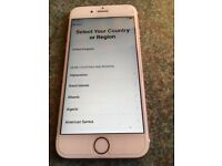 Apple IPhone 6S 16GB rose gold, excellent condition and unlocked