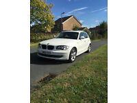 BMW 1 Series 2010 2.0 116i White Sport Hatchback 5dr NEW 1 YEAR MOT