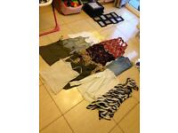 Size 12 ladies clothes bundle tops jeans camis etc