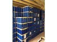 REALLY USEFUL 42 LITRE SIZED STORAGE BOXES WITH LIDS.