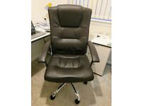 Executive Leather Swivel Chair