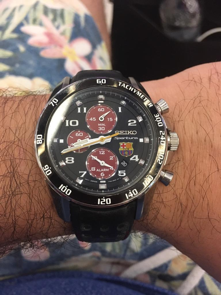 I want to sell Seiko Sportura BARCELONA Limited Edition SNAE75