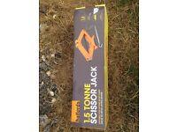 Halfords Scissor Jack 1.5 Tonne Wind Up Lifting Tool Lifter Workshop Garage