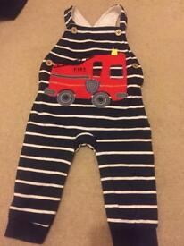 Baby boys dungarees