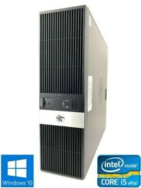 HP RP5800 SFF DESKTOP/ WINDOWS 10/ OPEN OFFICE /4GB/ 500GB/ DVD