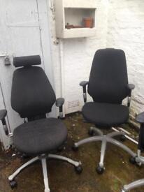 R&h operators chairs