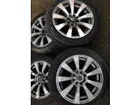 Fiesta set of 4 alloy wheels