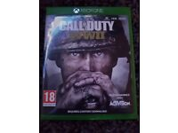 Call of duty ww2 for sale only played a couple of times