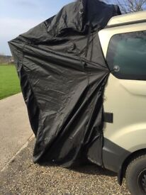 Campervan awning. Rear door entry. Only used twice.