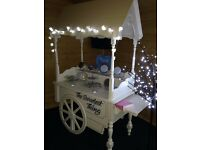 Vintage Candy Cart with bespoke treats