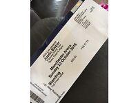 Justin Bieber ticket for sale, Manchester 23.10.16. £200
