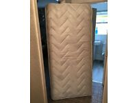 Air sprung single mattress (brand new)