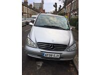 Mercedes Benz Viano EXTRA LONG WHEEL BASE, PCO licenced, Diesel