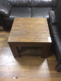 Solid oak coffie table