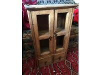 Antique Vintage Wall Cabinet / Pantry / Spice Cupboard, or Side Table