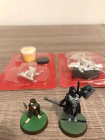 Lord of the rings miniatures.