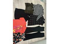 Size 10 clothes bundle Next 10Long trousers, H&M and others