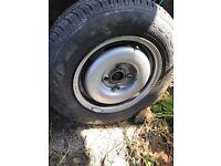 "vw mk2 golf steel wheels 13"" x 4"