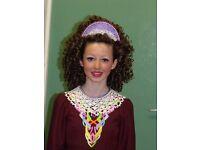Irish Dancing Wig - Split Curl