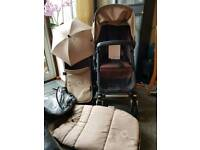 Bugaboo cameleon 3 unisex colour sand and chocolate