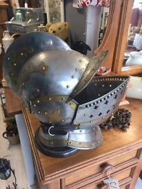 Armoured helmet and gloves £150