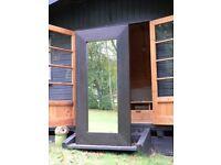 Large Ikea Mirror - MONGSTAD black/brown