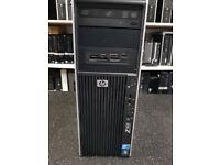 Used, HP Z400 Workstation Intel Xeon-W3505 CPU @2.40GHZ 8GB RAM 500GB HDD Win 7Pro for sale  Haringey, London