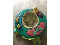 Mothercare baby walker with music activity