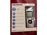 Olympus DM-650 Digital Voice recorder brand new - never used