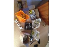 Used golf balls for sale many brands good condition, BARGAIN.