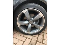 Audi s3 alloys