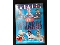 Rare glasgow rangers wing wizards dvd. Very good condition.