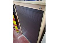 Sliding Door Mid Sized Storage Cupboard