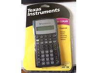 Texas Instruments BAII Plus Financial Calculator for CFA and GARP FRM exam