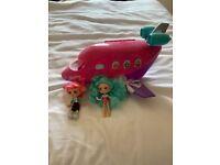 Shopkins airplane