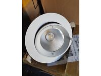 LED 24w Recessed Downlights - White - 5k - Brand New in box