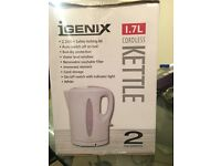 Unopened White kettle
