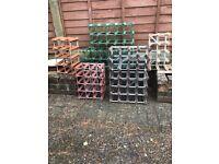 Wine racks. £6 to £15 each
