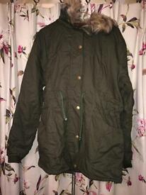 Brand New Parka Coat Size L