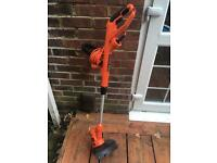 Black and Decker Corded strimmer