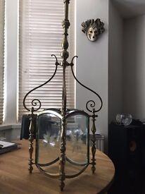 Antique Brass Hall Light