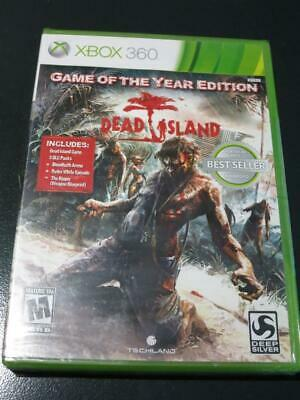 New Dead Island Game of the Year GOTY Edition Xbox 360 Zombie Horror Action Game for sale  Shipping to India