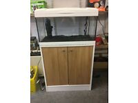 Marina 54lt fish tank and stand full working order