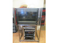 Convection Electric Commercial Bake off Oven, with trays and stand, Planetary Commercial Mixer 30l