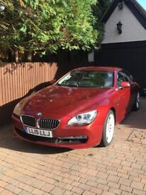 BMW 640d Coupe. LOW milage.